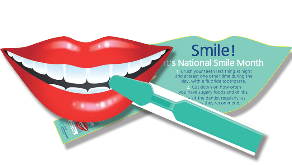 Toothpaste clipart healthy smile. National month awareness days