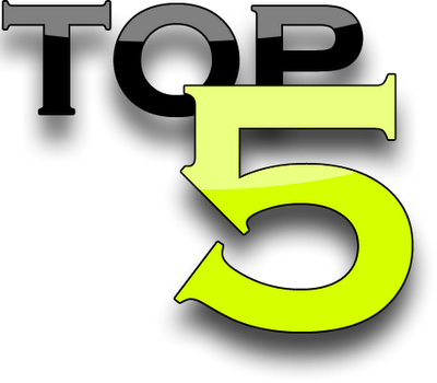 Top 5 logo png. Reasons to use
