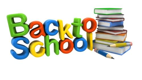 Top clipart back to school book. Best pictures and