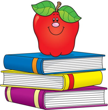 Top clipart back to school book. Best books images
