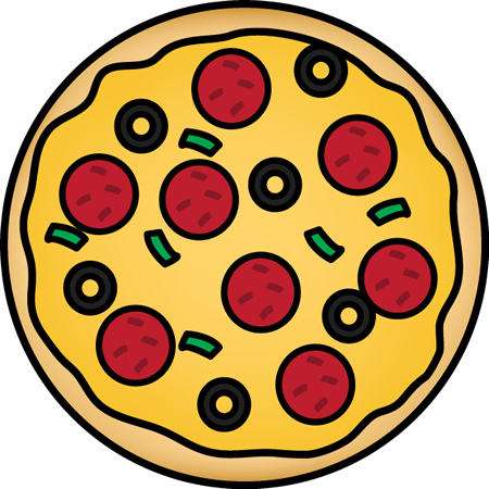 Pizza clip one. Clipart the top best