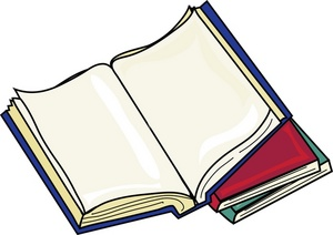 Top clipart school textbook. Free book image illustration