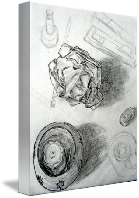 Top drawing art work. Table life by silverwind