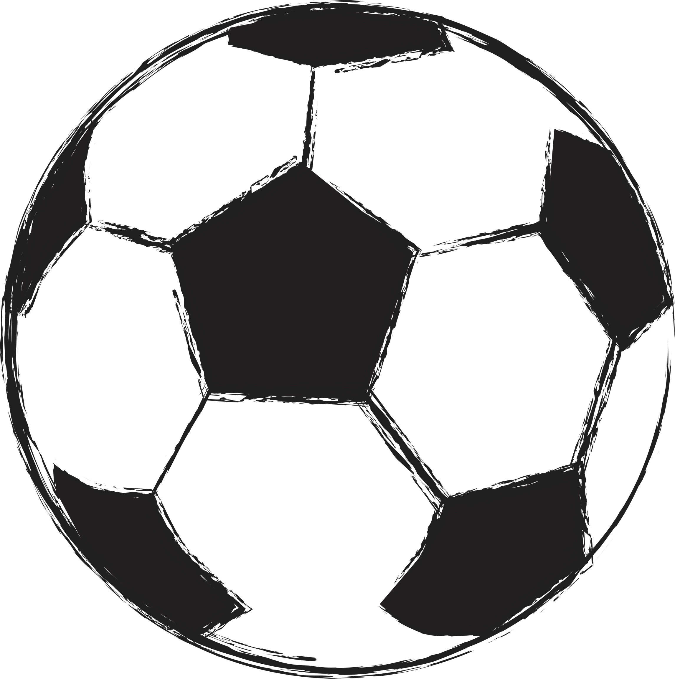 Top drawing football. Png images ball