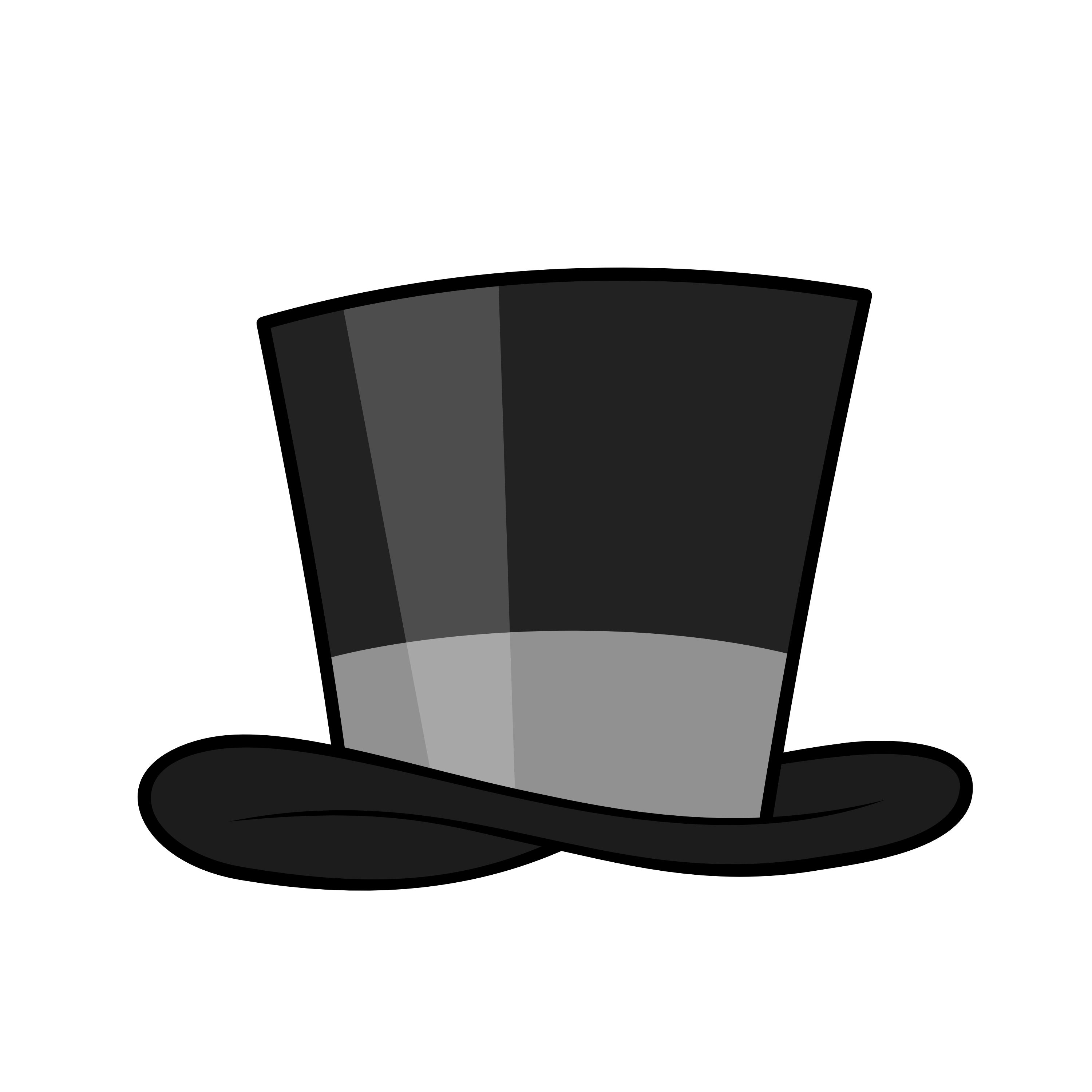Top hat png transparent. Magician clipart magic background vector library library