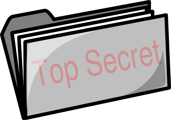 Top secret folder png. Clip art at clker