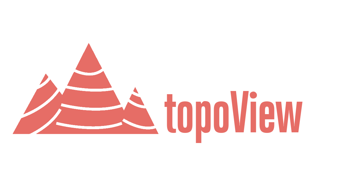 Topographic vector abstract. Topoview usgs