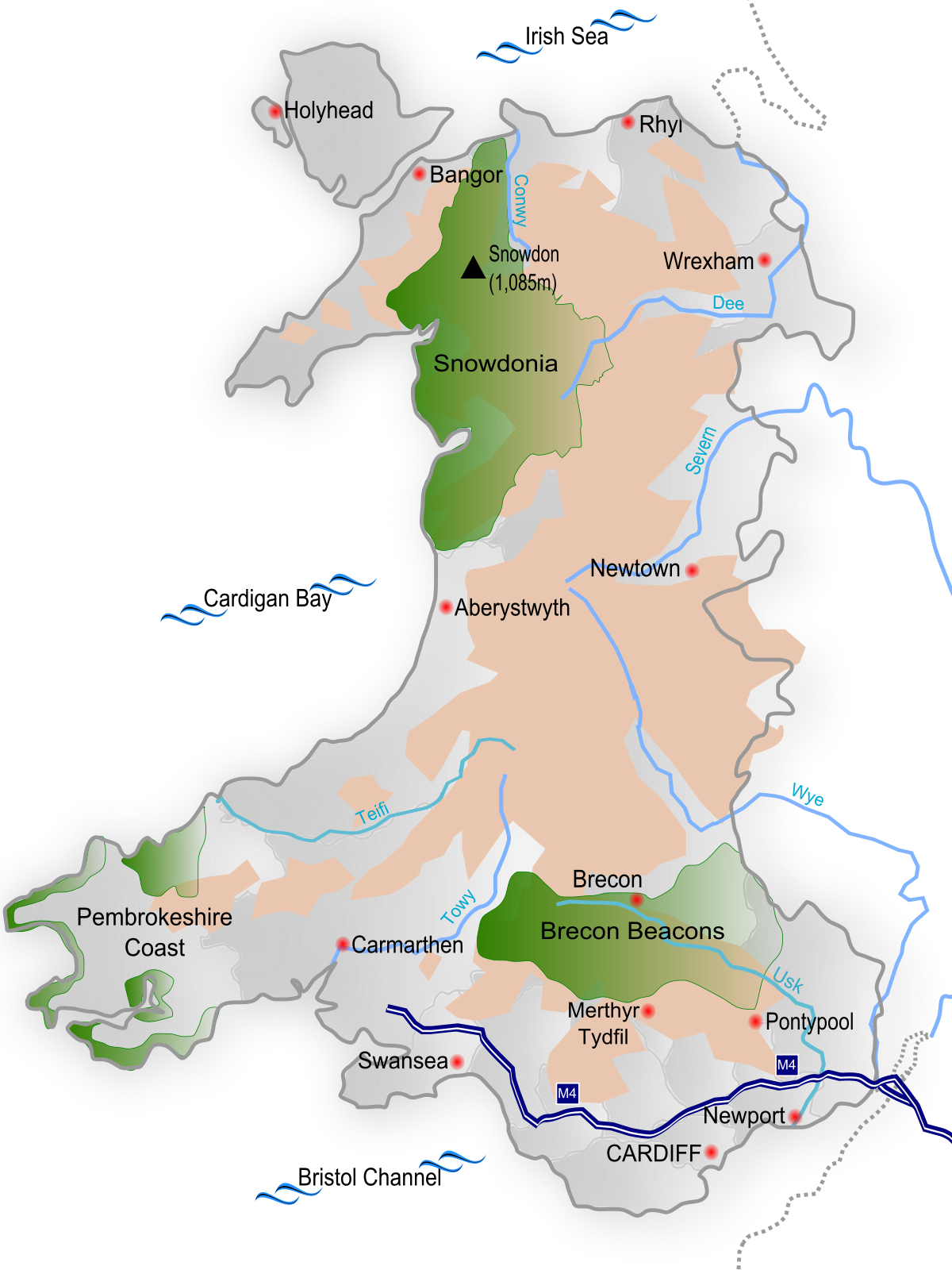 Topographic vector mountain range. Geography of wales wikipedia
