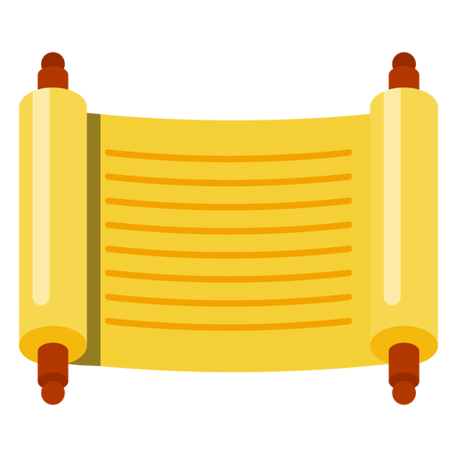 Torah scroll png. Sefer icon transparent svg