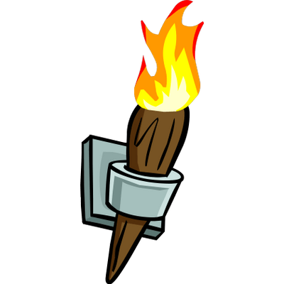 Torch clipart bamboo torch. Wall transparent png stickpng