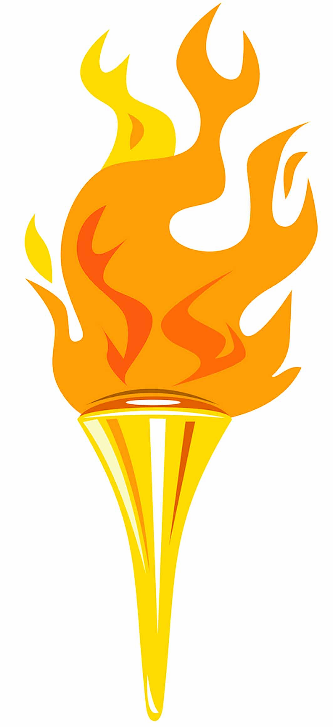 Torch clipart. Olympic