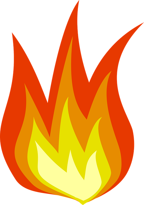 Torch clipart fire. Png burning alpha loop