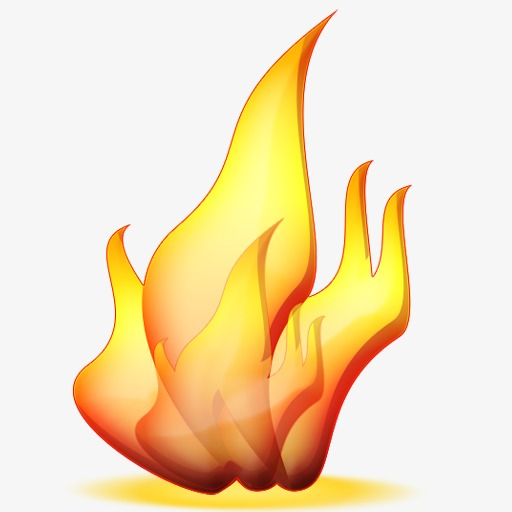 Torch clipart fire effect. Png image and for