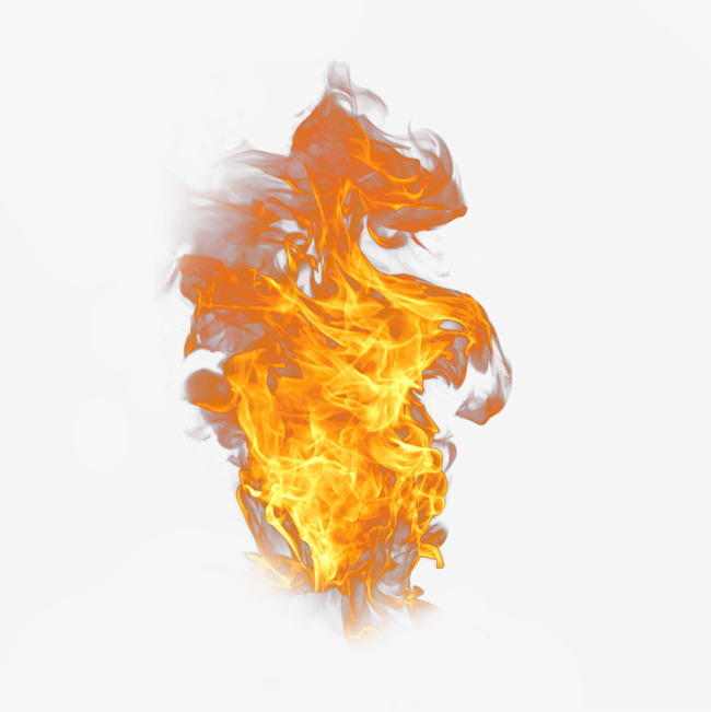 Torch clipart fire effect. Red flame material cool