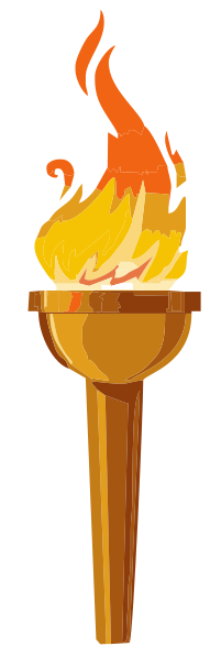 Torch clipart freedom. Poets united midweek motif