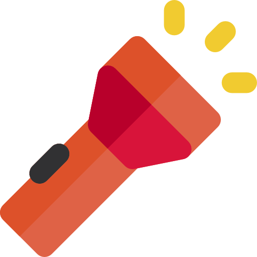 Torch icon png. Flashlight