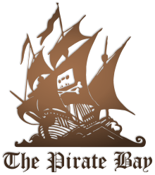 Torch transparent pirate. The bay drawing of