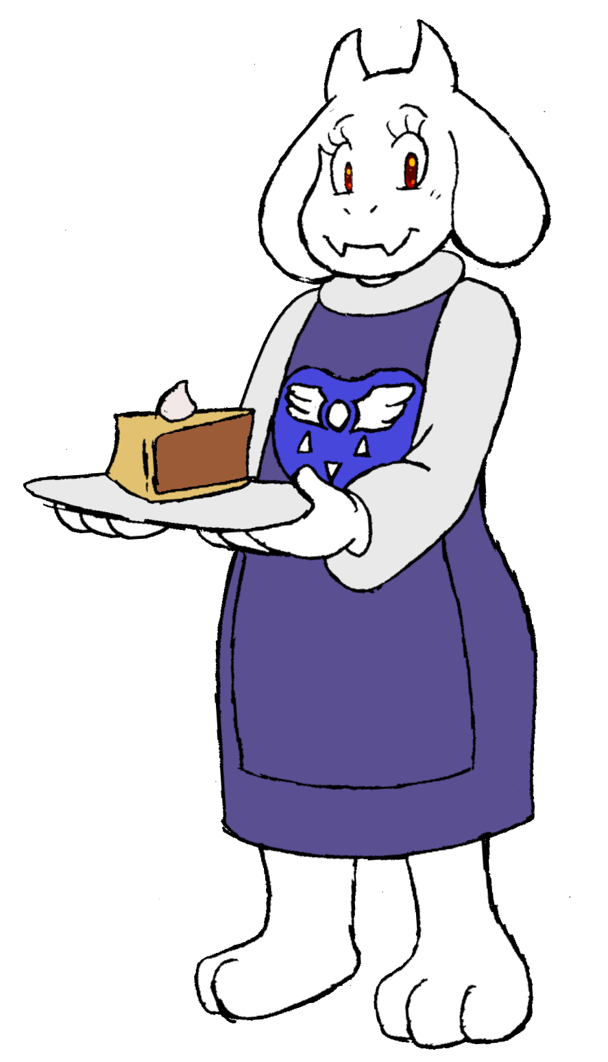 Toriel undertale png. Popularity contest off topic