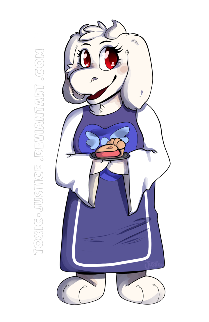 Toriel undertale png. By toxic justice on