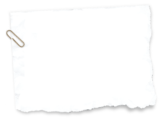 Torn white paper png. Transparent stickpng