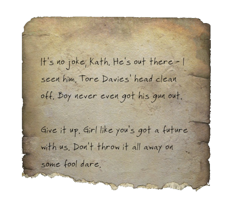 Torn note paper png. Image fo kate fallout