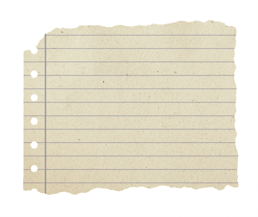 Torn notebook paper png. Free photo off block