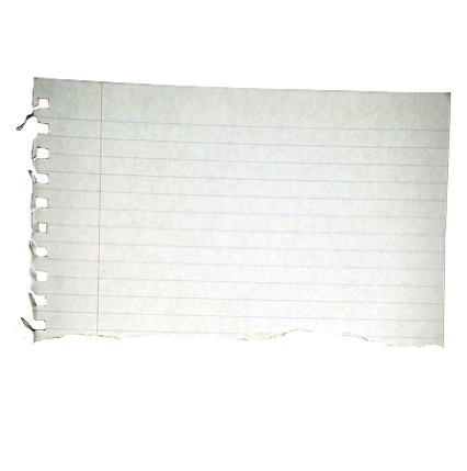 Torn notebook paper png. Leaving cakes fricingonthecake com