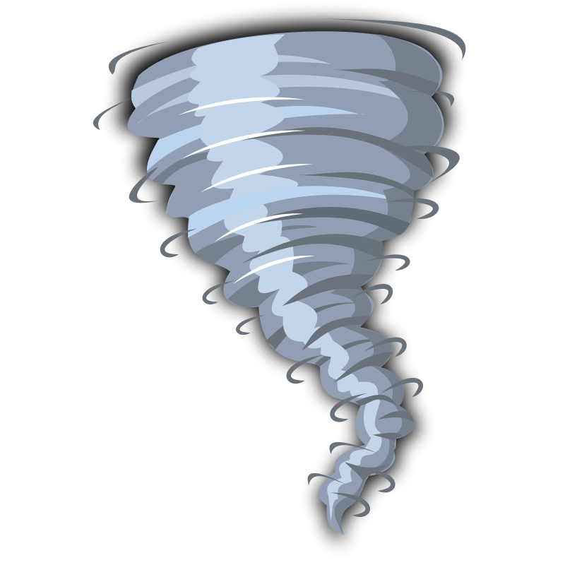 Tornado clip powerful. Free cartoon pictures download