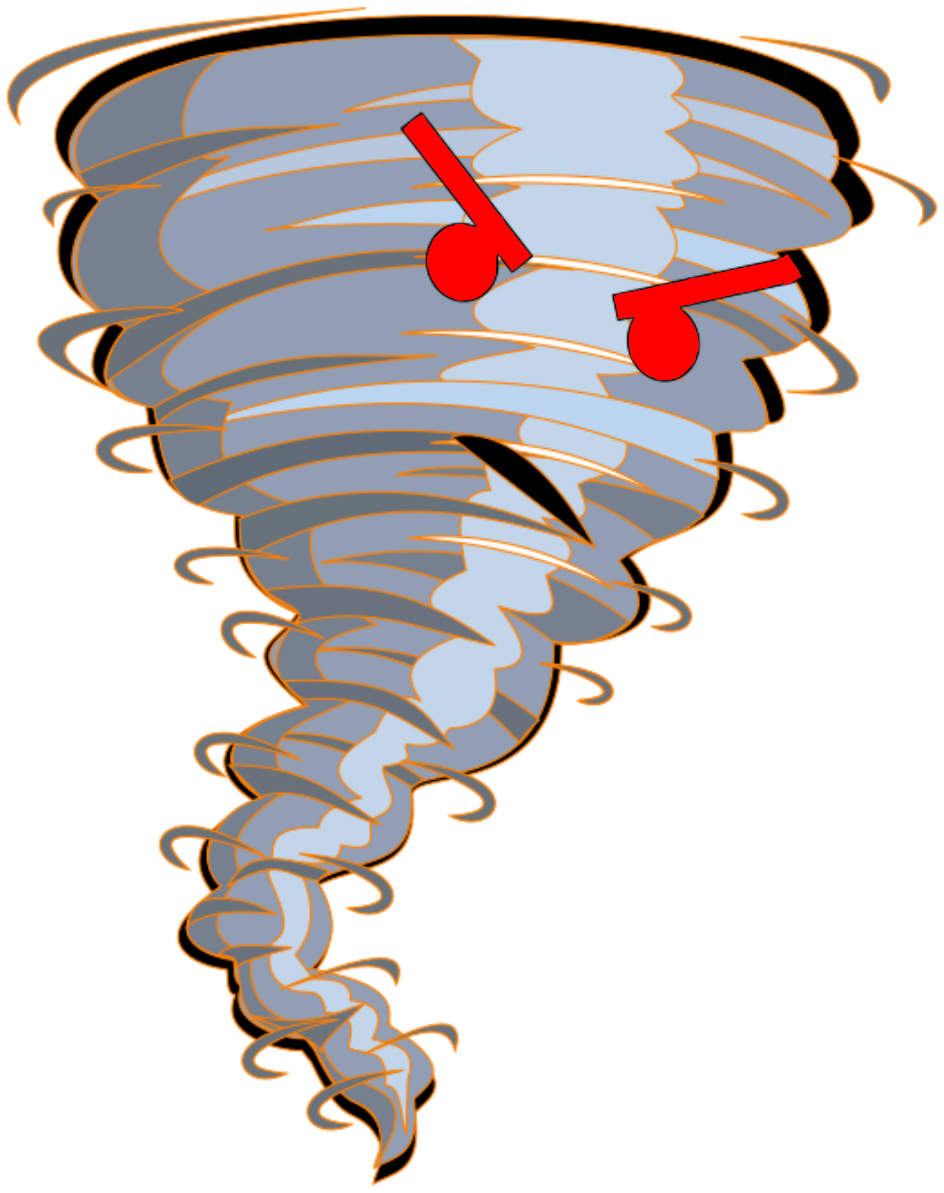 Tornado clip red. Clipart angry eyes big