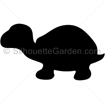 Tortoise clipart silhouette. Pin by muse printables