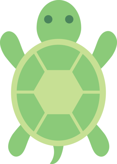 turtles clipart foot