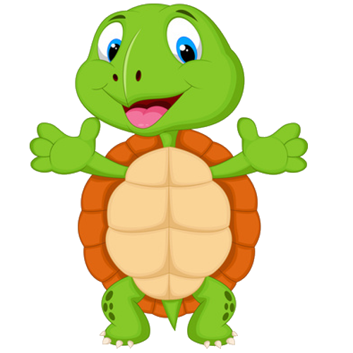 Tortoise clipart run. Turtles cartoon clip art