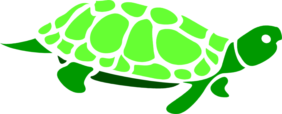 Tortoise vector cartoon giant. Turtle silhouette clipart free