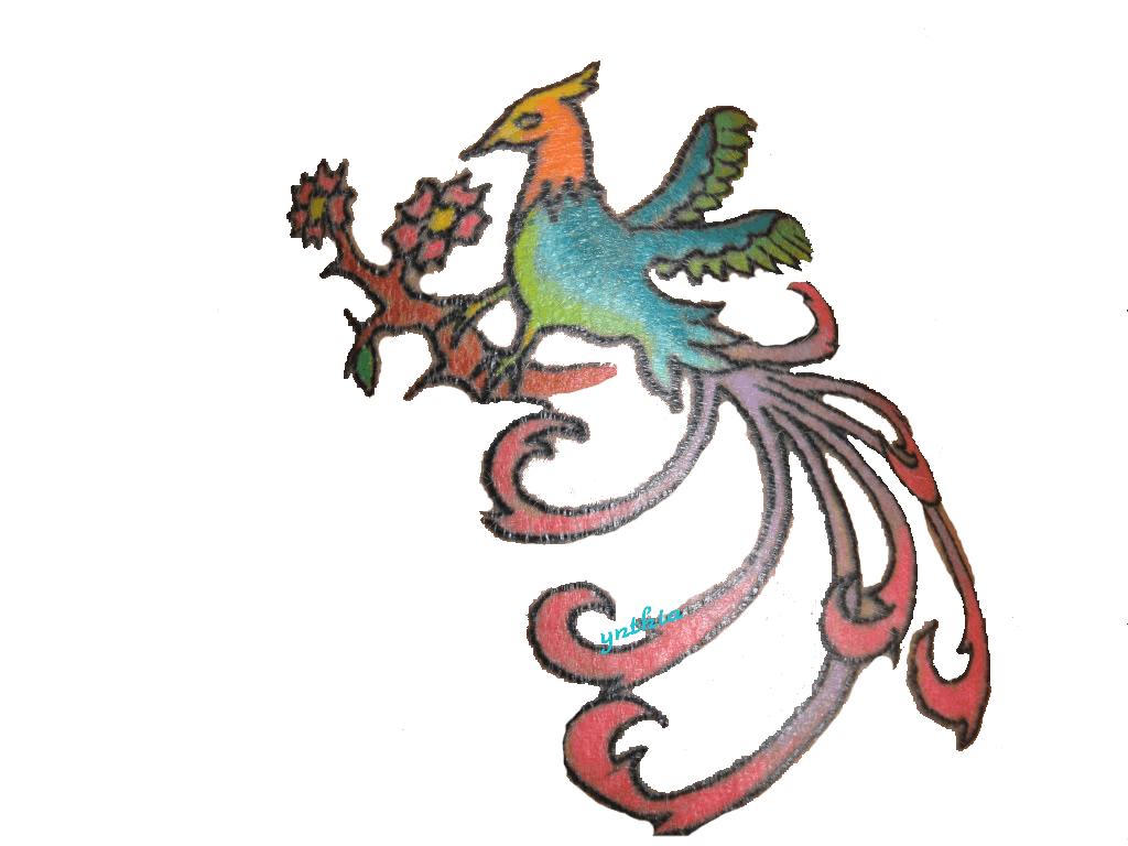 Totem drawing phoenix. Snake cryominute eclectic avenue