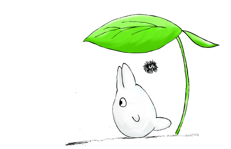 Totoro umbrella png. Pin by allen on