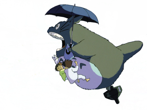 Image flying my neighbor. Totoro umbrella png clip royalty free library