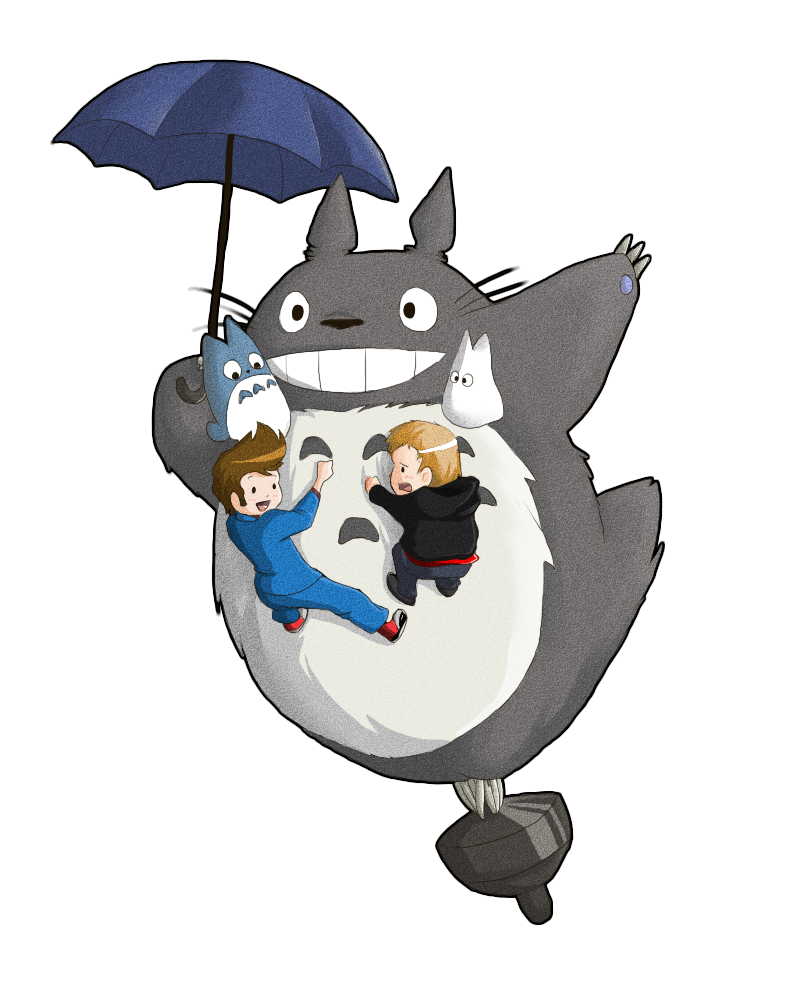Totoro umbrella png. Doctor master and by