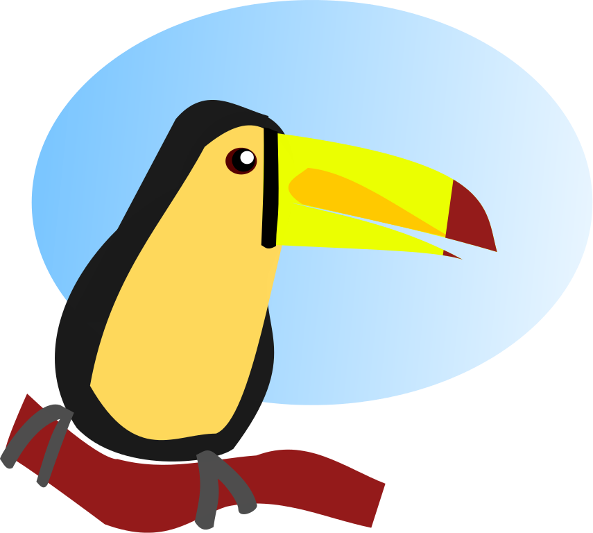 Toucan clipart kid. Free cartoon pictures download