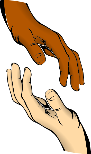 Hand reaching out png. Touch free clipart