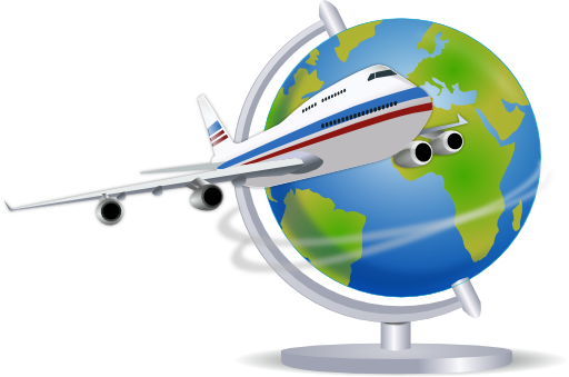 Traveler vector plane. Free travel cliparts download