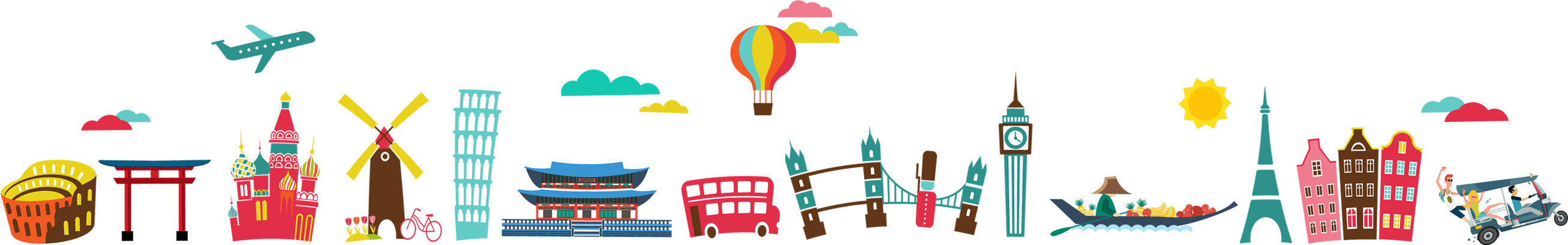 Tourist clipart holiday package. Tripzilla make travel happen