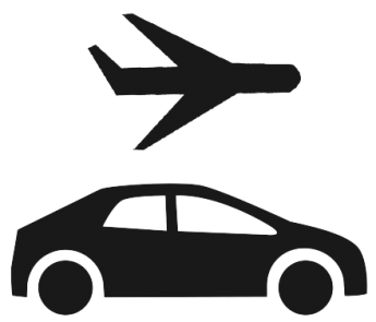 Tourist clipart service vehicle. Airport rental cars and