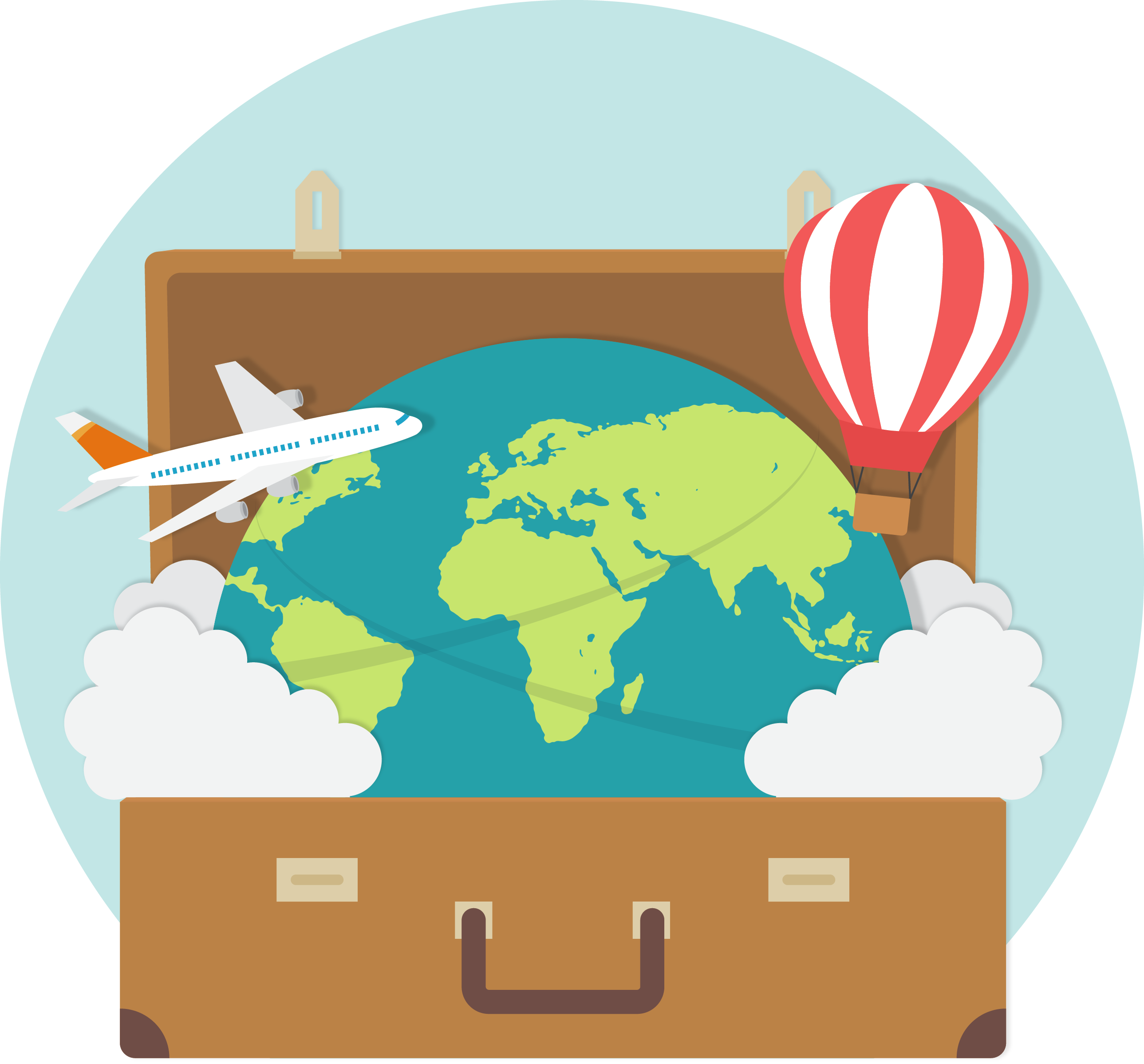 Tourist clipart travel service. Translation services for the