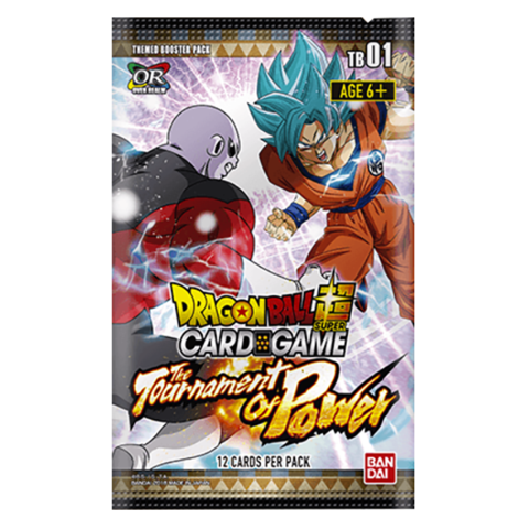 Tournament of power png. Dragon ball super card