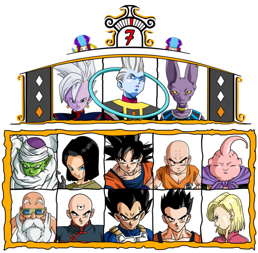 Tournament of power png. The univers by orochidaime