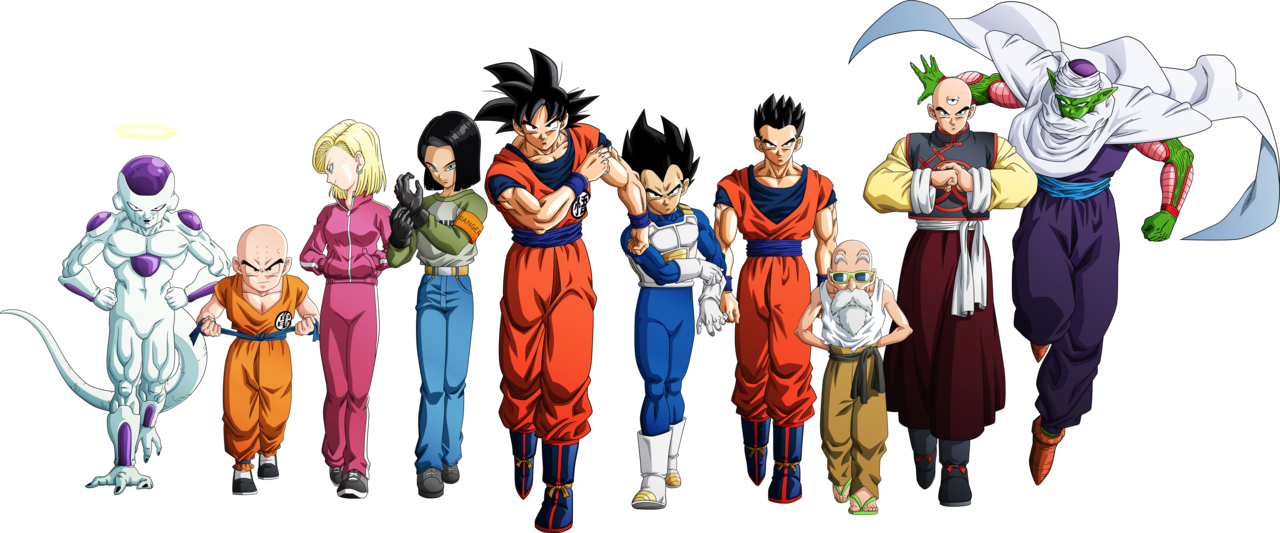 Tournament of power png. Universe roster by aubreiprince