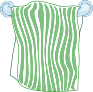 towel vector bath