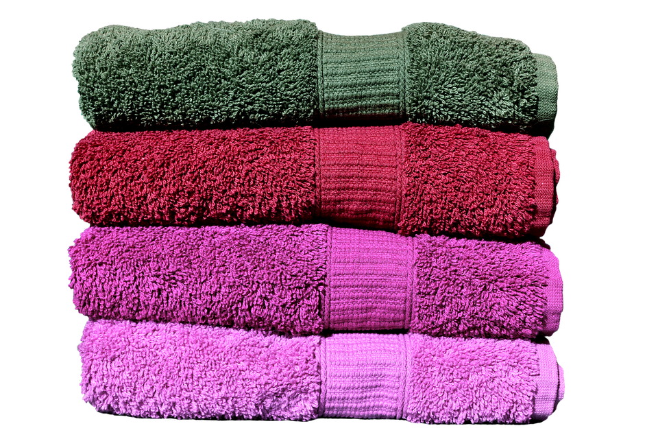 Towel on the floor png.