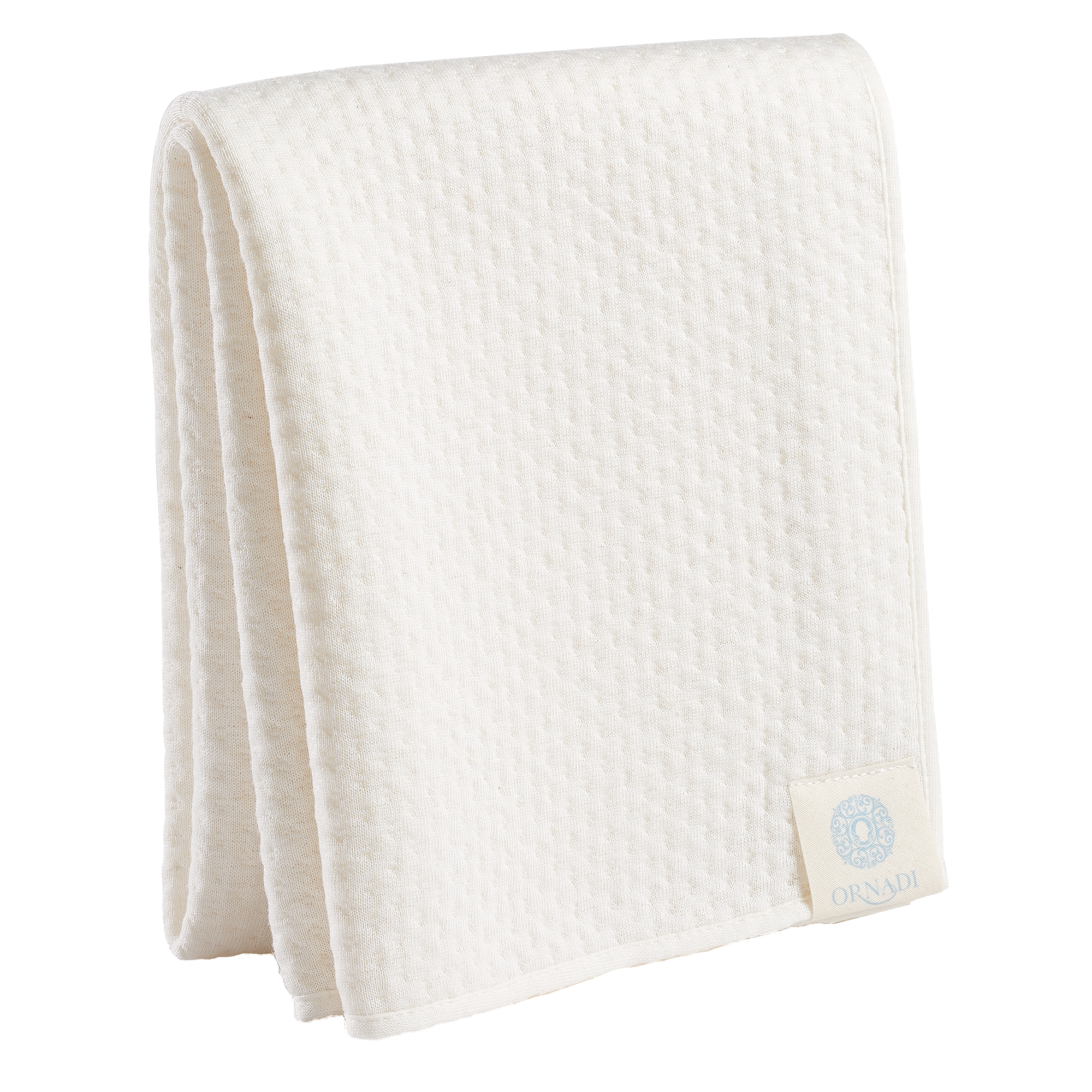 Towel transparent face. Bamboo organic cotton soft