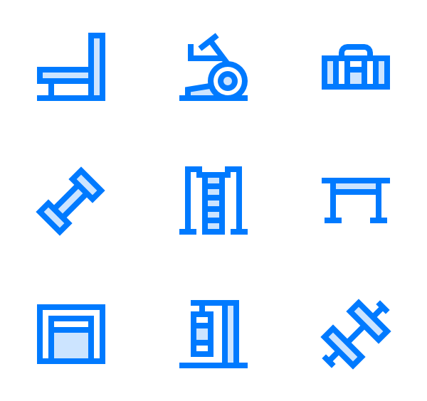 Towel vector icon. Icons free gym